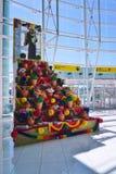 L'aéroport LIS de Lisbonne Portela Photos libres de droits