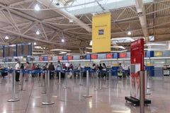 L'aéroport signent Image libre de droits