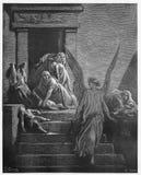 L'aîné de l'Egypte sont massacrés dans la peste finale