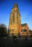 L'aa-kerk ou l'église de Der aa Images libres de droits