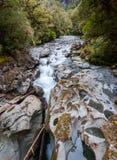 L'abîme chez Milford Sound images libres de droits