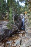 L'abîme tombe Rocky Mountain Park Photos stock