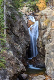L'abîme tombe Rocky Mountain Park Photo libre de droits