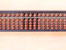 L'abaco giapponese ha chiamato Soroban Immagini Stock