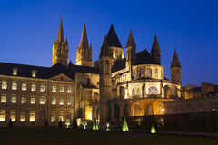 L'Abbaye-aux-Hommes, Church of Saint Etienne, Caen Royalty Free Stock Photography
