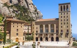 L'abbaye bénédictine Santa Maria de Montserrat Photographie stock libre de droits