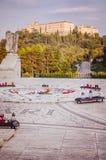 L'abbaye de Montecassino photos stock