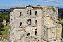 L'abbazia antica di Montmajour immagine stock