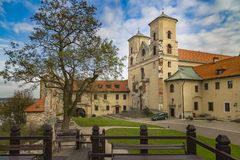 L'abbazia del benedettino a Cracovia poland Fotografia Stock Libera da Diritti
