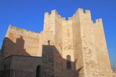 L'abbazia del San-Vincitore de Marsiglia Fotografie Stock