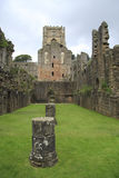 L'abbazia delle fontane rimane Immagini Stock