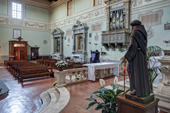 L'abbazia di San Salvatore Immagine Stock