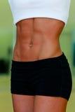 L'abdomen du femme Photo libre de droits