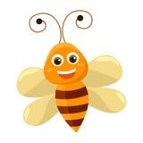 L'abeille mignonne Photo libre de droits