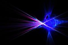 L'abrégé sur fractale ondule le vortex illustration de vecteur