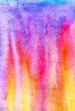 L'abrégé sur illustration d'aquarelle flambe le fond Image libre de droits
