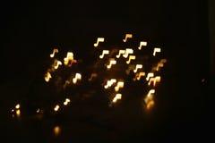 L'abrégé sur musique, bruit et notes brouillent le fond Photo libre de droits