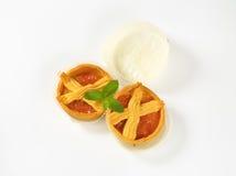L'abricot durcit avec le trellis photo libre de droits