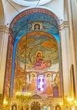 L'abside della chiesa di Kashveti a Tbilisi Fotografia Stock