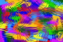 L'abstraction courbe des chiffres modèle pie illustration de vecteur