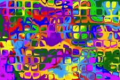 L'abstraction courbe des chiffres modèle pie Image stock