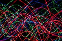 L'abstraction de couleur Photographie stock