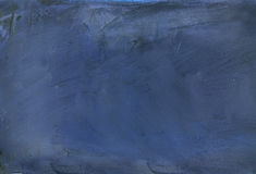 L'abstrait bleu a peint Images stock