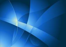 L'abstrait courbe le fond illustration de vecteur