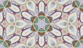 L'abstrait fleurit la configuration sans joint Photographie stock libre de droits