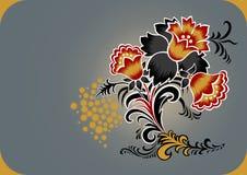 L'abstrait fleurit la décoration Illustration de Vecteur