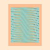 L'abstrait ondule la trame de photo Illustration de Vecteur