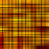 L'abstrait orange et jaune raye le fond. illustration stock