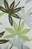 L'abstrait pousse des feuilles tissu Photos stock