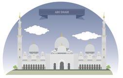 l'Abu Dhabi Illustration de Vecteur