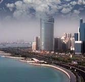 L'Abu Dhabi Fotografie Stock Libere da Diritti