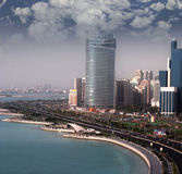 l'Abu Dhabi Photos libres de droits