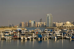 L'Abu Dhabi Fotografia Stock