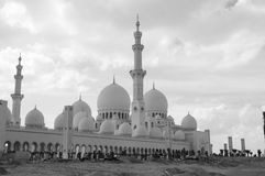 l'Abu Dhabi - cheik Zayed Mosque Photographie stock
