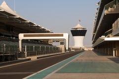 L'ABU DHABI - CIRCUITO DEL PORTICCIOLO DI YAS Immagine Stock
