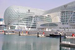 l'Abu Dhabi. Le champ de courses de la formule 1 Photo stock