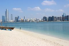 L'Abu Dhabi, UAE Fotografie Stock