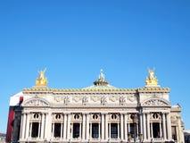 L Academie nationale de musique en París Imágenes de archivo libres de regalías
