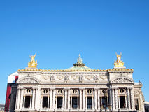 L' Academie nationale de musique in Paris Royalty Free Stock Images