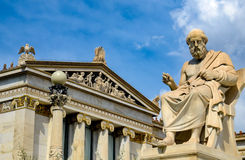 L'accademia di Atene Fotografia Stock Libera da Diritti