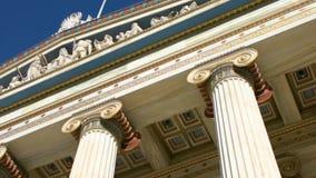 L'accademia di Atene, Grecia video d archivio