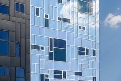 L'accademia esecutiva della costruzione fa parte dell'università di Vienna di economia e di affare Immagine Stock Libera da Diritti