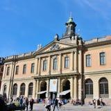 L'accademia svedese a Stortorget in Città Vecchia Immagine Stock