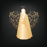 L'acceptation de Mary Image libre de droits