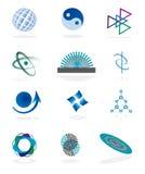 L'accumulazione dei simboli Immagini Stock