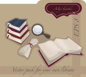 L'accumulazione delle biblioteche Immagine Stock Libera da Diritti